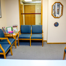 Coulee Family Dental Waiting Area La Crosse Wisconsin